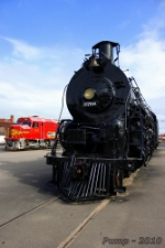 ATSF Locomotives on Display